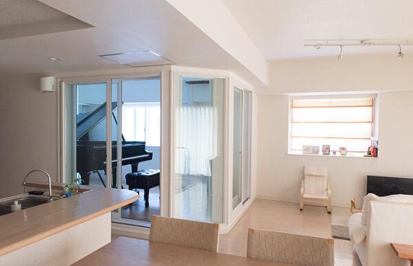 ピアノ練習のための防音室
